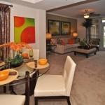 AMLI Upper West Side Apartment Dining Room