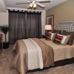 AMLI Upper West Side Apartment Master Bedroom