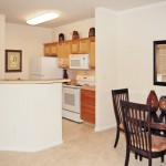 Amesbury Court Apartment Dining Area