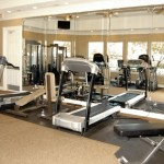 Amesbury Court Apartment Fitness Center