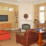 Amesbury Court Apartment Living Room