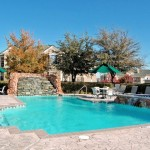 Amesbury Court Apartment Pool Area