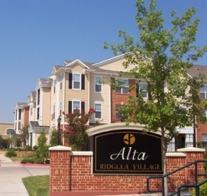 Ridglea Village Apartment Entrance