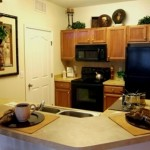 Ridglea Village Apartment Kitchen