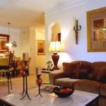 Ridglea Village Apartment Living Area.