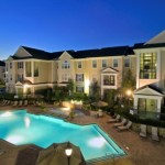 Ridglea Village Apartment Night View