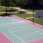 The Club at Fossil Creek Apartments Basket Ball Court