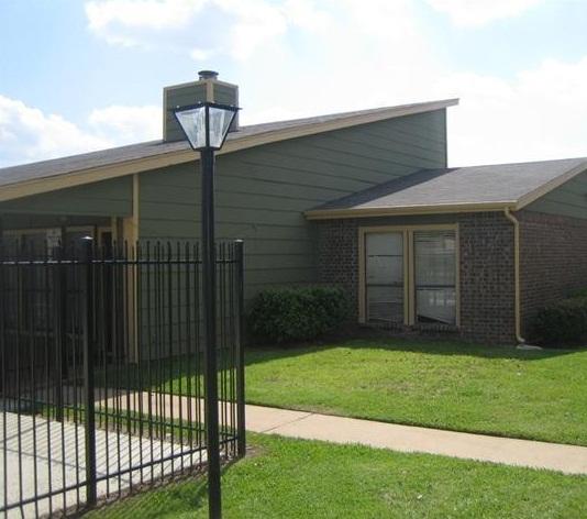 8500 Harwood Apartment Entrance -