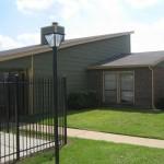 8500 Harwood Apartment Entrance