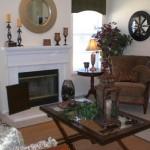Fireside at Eastchase Apartment Living Room
