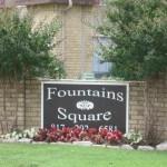 Fountains Square Apartment Signage