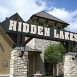Hidden Lakes Sign