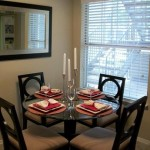 Highland Park Apartment Dining Room