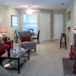 Highland Park Apartment Living Area