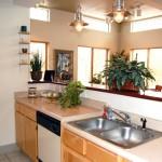 Hillside Apartment Kitchen Area
