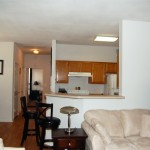 Hillside Apartment Living Area