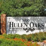 Hulen Oaks Apartment Entrance