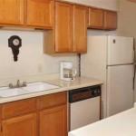 Hulen Oaks Apartment Kitchen
