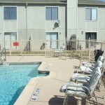 Hulen Park Place Townhomes Apartment Pool Area