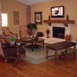 Hunter's Green Apartment Living Room