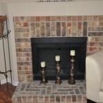 Marina Club Apartment Fireplace