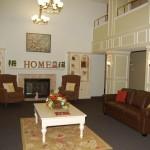 Palm House Senior Housing Apartment Living Room