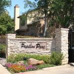Papillon Parc Townhomes Apartment Entrance