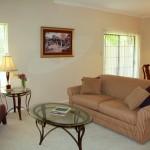 Papillon Parc Townhomes Apartment Living Room