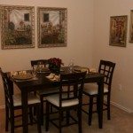 Park Creek Apartment Dining Room