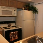 Park Creek Apartment Kitchen