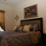 Park Creek Apartment Master Bedroom