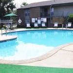 Raintree Apartment Pool Area