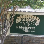 Ridgecrest at Hulen Bend Sign