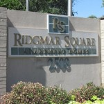 Ridgmar Square Sign