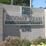 Ridgmar Square Pool Sign