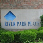 River Park Place Sign