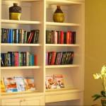 Stone Villas Book Shelves