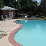 The Estates at Ridglea Hills Apartment Pool Area