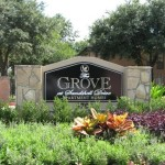 The Grove at Sandshell Drive Sign