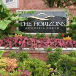 The Horizons at Fossil Creek Apartment Entrance