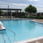 Villas of Eastwood Terrace Senior Housing Pool Area