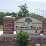 Villas of Eastwood Terrace Senior Housing Sign