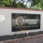 Cameron Creek at Cityview Sign