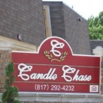Candle Chase Sign