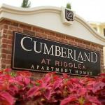 Cumberland At Ridglea Sign