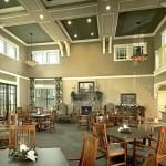 Evergreen at Keller Senior Housing Dining Area