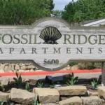Fossil Ridge Sign