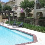 Monticello Oaks Townhomes Pool Area