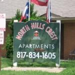 North Hills Crest Sign