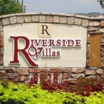 Riverside Villas Sign